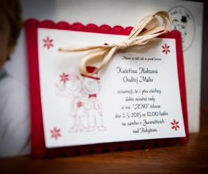 Svatební oznámení a tiskoviny